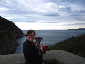 Hiking the East Coast Trail in Newfoundland with my pup!