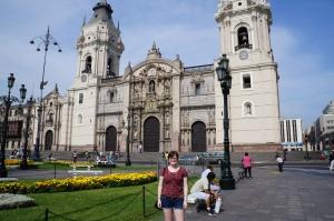 Plaza del Armas in Lima