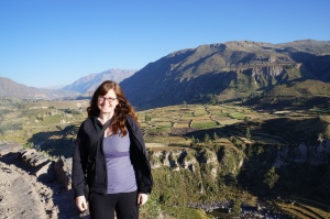 View on the way to Colca Canyon