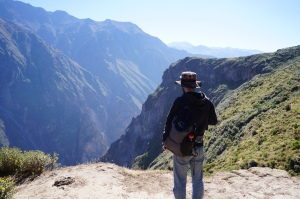 Cruz del Condor at Colca Canyon