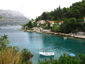 Adriatic Sea in Korcula