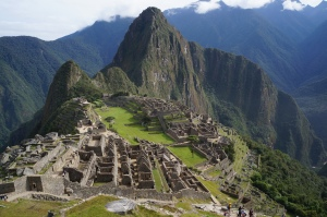 View of Machu Picchu from the guardhouse