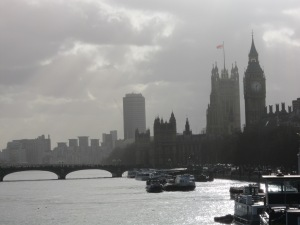 Big Ben and Parliament from the Thames