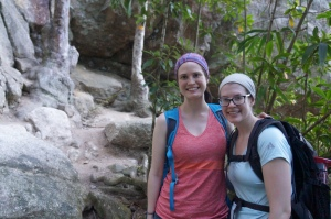 Hiking down Tijuca Mirim