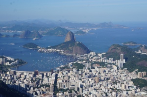 View of Sugarloaf from the Corcovado